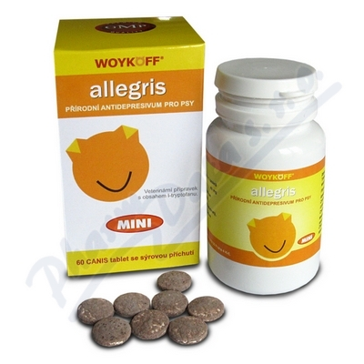 allegris CANIS mini (sýrová přích.) tbl. 60