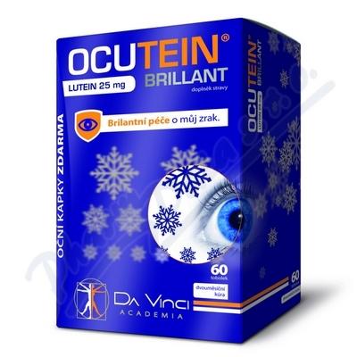 Ocutein Brillant Lutein 25mg DaVinci tob.60+kapky