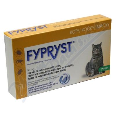 Fypryst Cat 1x0.5ml spot-on pro kočky