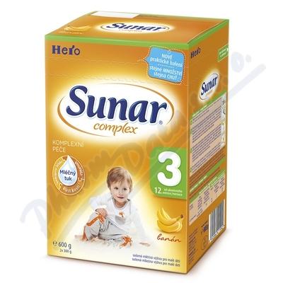 Sunar complex 3 banán 600g (nový)