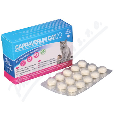 Capraverum Cat kittens-lactating tbl.30