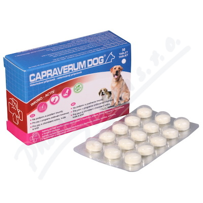 Capraverum Dog imuno-activ tbl.30