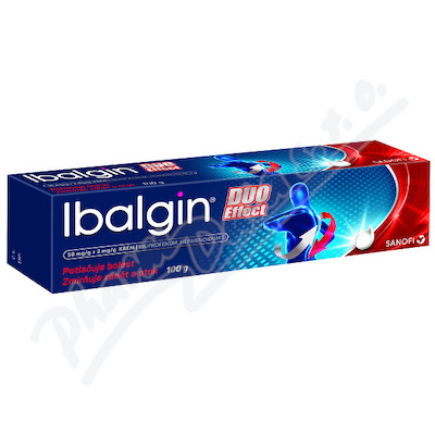 Ibalgin Duo Effect 50mg/g+2mg/g crm.100g