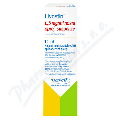 Livostin 0.5mg/ml nas.spr.sus.1x10ml