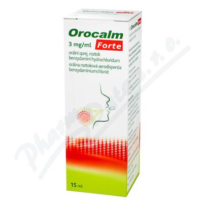 Orocalm Forte 3mg/ml orální sprej 1x15ml
