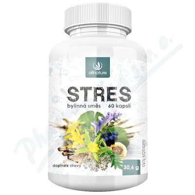 Allnature Stres bylinný extrakt cps.60
