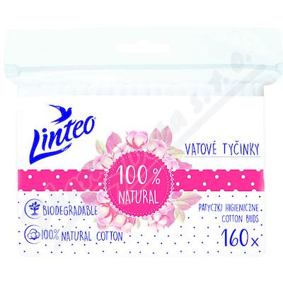 Vatové tyčinky papírové LINTEO 160ks