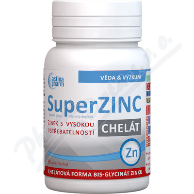 Astina SuperZINC chelát tbl. 90