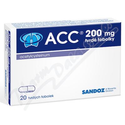 ACC 200 por.cps.dur.20x200mg