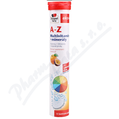 A-Z Multivitamin + minerály 15 šum.tablet DoppelH.