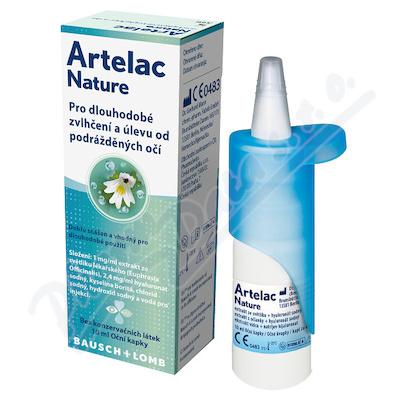 Artelac Nature oční kapky 10ml