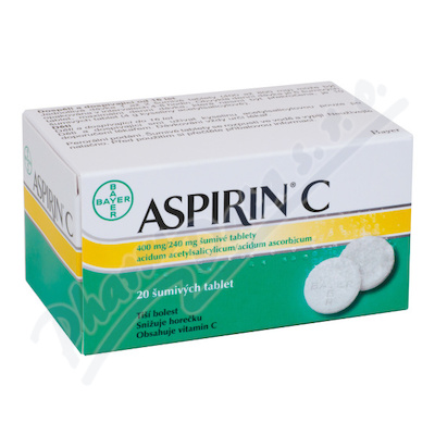 Aspirin C 400mg/240mg tbl.eff.20