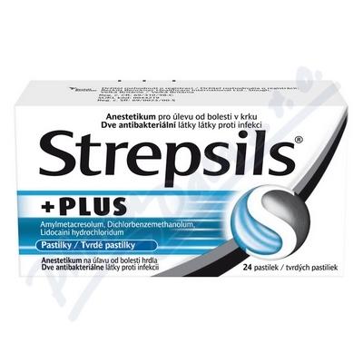 Strepsils Plus pas. 24