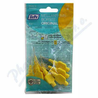 TePe mezizub.kartáčky žluté 0.7mm 8ks sáček