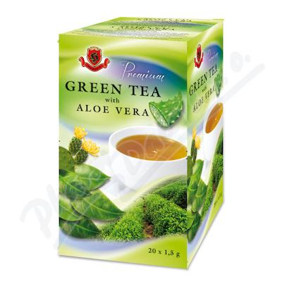 HERBEX Premium zelený čaj s aloe vera n.s.20x1.5g