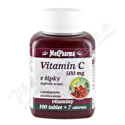 MedPharma Vitamín C 500mg s šípky tbl.107 prod.úč.