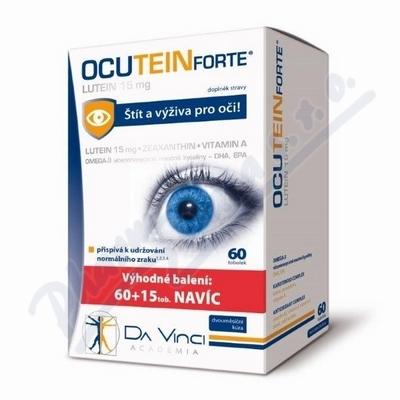 Ocutein Forte Lutein 15mg DaVinci tob.60+15