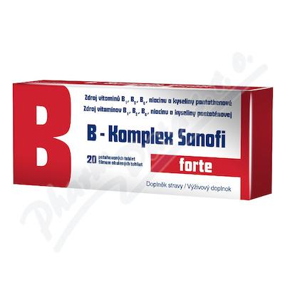 B-Komplex forte Sanofi por.tbl.flm.20