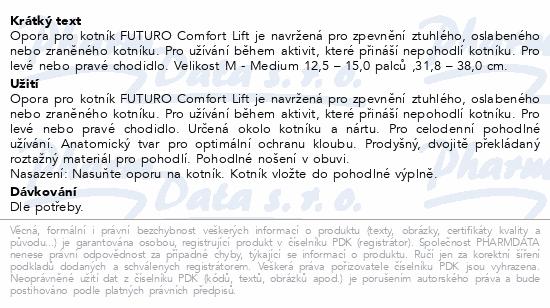3M FUTURO Bandáž hlezenního kloubu Comfort Lift M