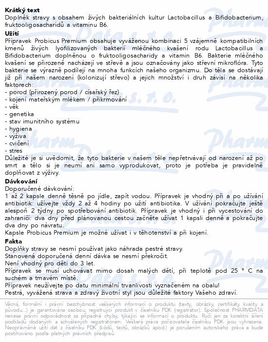 Probicus Premium cps.15 Generica