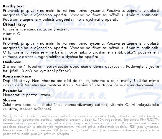 TOPVET Lichořeřišnice Větší bylinné tob.60